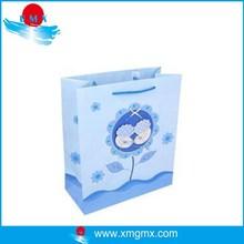 Customized Sunflower Design Cardboard Paper Bag for Gift Pakaging