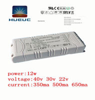 UL CE 12w consant current dc input led driver ic