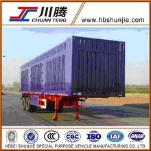 2 axles van type trailer vehicle