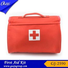 GJ-2590 Hot selling Nylon Material Multi-funtion car first aid kit