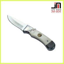 White OX Bone Nice Utility Hunting Knife