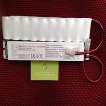 Environmental & Energy conserving emergency conversion kit with battery for T8 35W fluorescent lamps