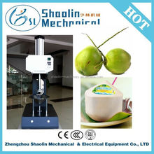 New design green coconut peel cutting machine with good price