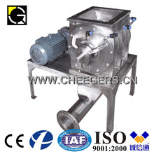 Rotary airlock for milling plant use