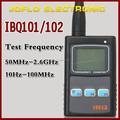 Contador do comprimento Digital New Black IBQ101 / 102 walkie talkie contador de freqüência