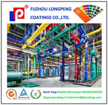 Sewage treatment engineering piping Epoxy powder coating