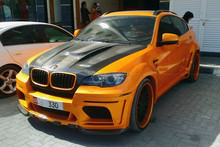 hot!! Haman style car bumper body kit for bimmer x6 E71 FRP material perfect fitment