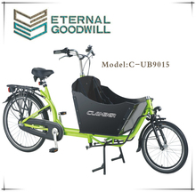 2015 hot sale inter 3 speeds 26 inch cargo bike/family used cargo bike UB 9015
