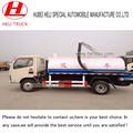 4000l dongfeng camión de succión fecales para la venta