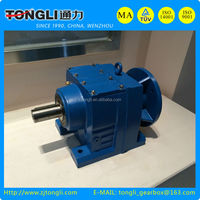 Tongli R series Helical bevel Reducer Casing special for food processing industries