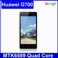 Original HUAWEI G700 MTK6589 Quad Core Android 4.2 5.0 Inch HD Screen RAM 2GB + ROM 8GB Support Dual SIM Smart Phone