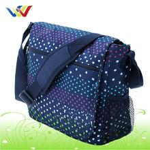 Latest design two sided strap student shoulder bag
