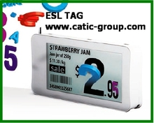 Retail e-ink shelf label for retailers, supermarket, warehouse, chain stores