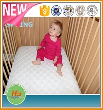Waterproof Baby Crib Fitted Mattress Pad Cover For Cot