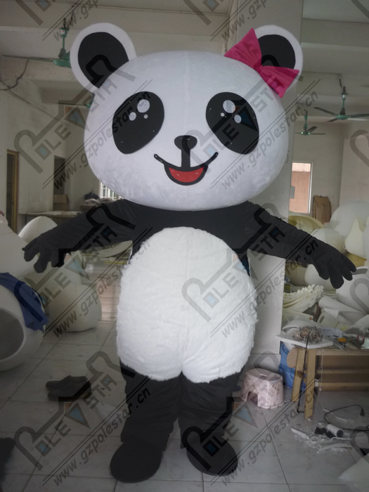 Panda Costume Head Big Head Cute Panda Mascot