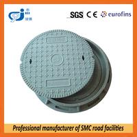round fiber glass manhole cover