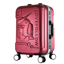 20-24-28 one set abs aluminum trolley suitcase/functional/cheap/good quality