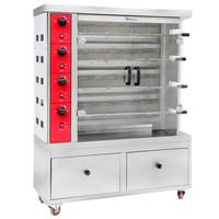 Commercial Use Gas Chicken Rotisserie/chicken rotisserie for sale/roast chicken machine