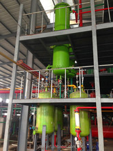 Waste engine oil distillation machine to diesel