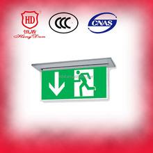 UL LED emergency exit sign board