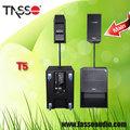 pa digital profissional amplificado sistemas de áudio woofer