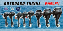 gasoline outboard motor 5hp four stroke with long or short shart