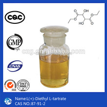 High Purity Hot Sell CAS 87-91-2 L-(+)-Diethyl Tartrate