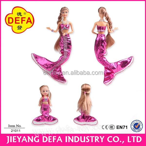 2016 New Design Promotional Items little mermaid dress doll .jpg