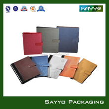 paper notebook/ refillable leather journals/ promotional stationery leather journals
