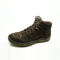 comfy silent step lightweight easy moving cowskin genuine leather men hunter shoes