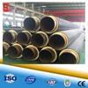 factory prefabricated directly buried underground plumbing pipeline of polyurethane pu foam insulating tube