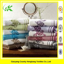 100% Cotton Plush Absorbent Embroidered Bath Beach Towels new products on china market