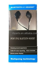 Fashionable Sport style Bluetooth Headset V4.1 + EDR Wireless Earphones Stereo Bluetooth Headphone Binaural 4.1 for all Phone