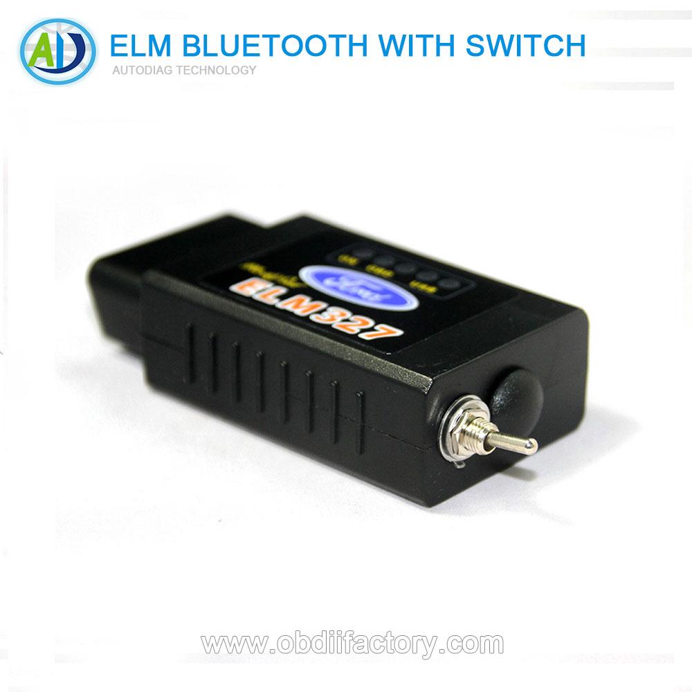 Forscan interruptor Elm327 universal OBD del coche herramienta de diagnóstico v1.5 Bluetooth interfaz auto OBD2 OBD II adaptador