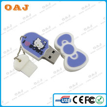 Quality promotional novelty model pvc usb flash drive