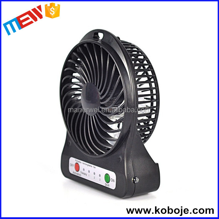 Portable Air Circulators : Wireless handheld rechargeable cooling fan air circulator