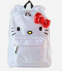 Kitty bag school library child school bag