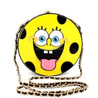 Top quality SpongeBob acrylic clutch bag smiley face bag Original factory produce in Guangzhou