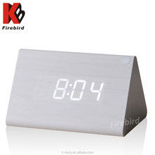 Promotional gifts 2015 wooden alarm clock top selling list electronic items with low price