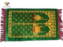 Muslim prayer mats with foam padding Islamic prayer rugs with memory foam padding
