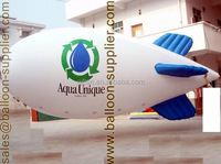 Advertising balloon 4 meter to 10 meter PVC inflatable helium blimp for promotion