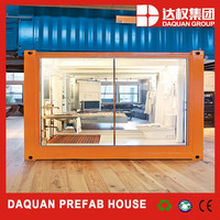 40 ft container house Fashionable container store, Mobile hydraulic system shipping cafe container shop