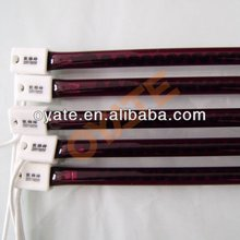 ruby plating halogen infrared heating lamps for saving energy
