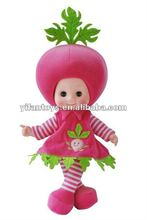 2012 New and Hot plush girl doll in dress