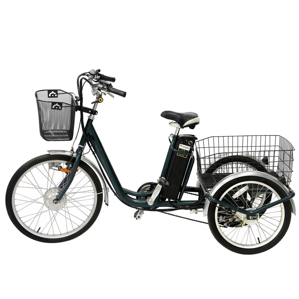 24 u0026quot  aluminium 3 wheeled 7 gears  u0026 baskets street e