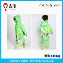 Maiyu kids raincoat cartoon outdoor