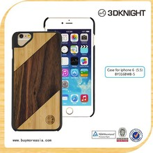 Customized Wood Phone Case for iPhone 6 Plus, Real Handmade Wooden Case for iPhone 6 Ultra Slim Phone Case