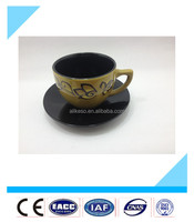 wholesale high quality ceramic custom printed tea cups and saucers