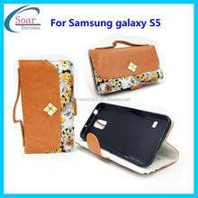 Latest handbag leather case for Samsung galaxy S5 ,luxury diamond case for Samsung galaxy S5,cell phone case for Samgsung S5