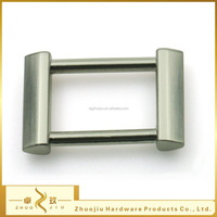 High quality zamak square ring bag buckles